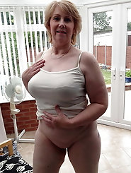 Raunchy housewife in good shape