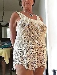 Sexy granny ive been pulling my cock over for years