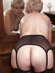 Lascivious aged granny loves anal sex so much
