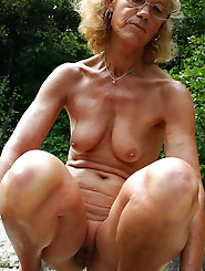 Big breasted mature moms are posing naked for a photoshoot