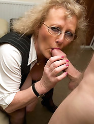 Granny Claire Sucking Dick