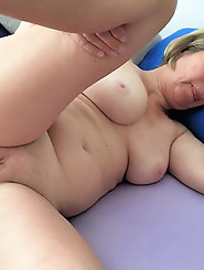 Girl having massive jugs
