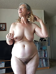 Matures and Grannies Full Frontal Hairy Edition